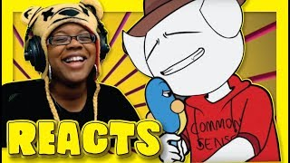 What REALLY Happens in Collabs 2 by TheAMaazing   Story Time Animation Reaction