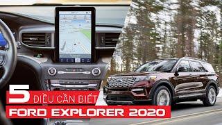 [Xe Mới] FORD EXPLORER 2020: 5 điều bạn cần biết   Whatcar.vn