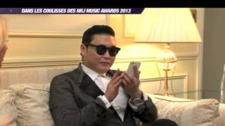 Exclusive funny interview with PSY in Cannes, NRJ Music Awards
