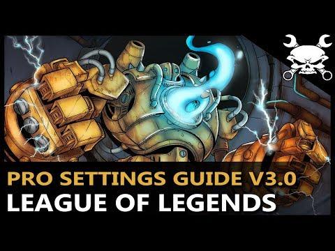 League of Legends Pro Graphics & Settings Guide V3.0 (OPTIMAL SETTINGS GUIDE!) - Gidrah