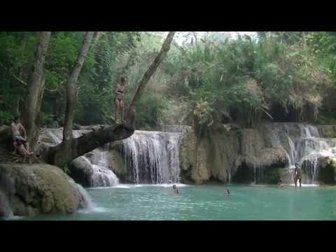 Manon (Jane) @ Kuang Si waterfall