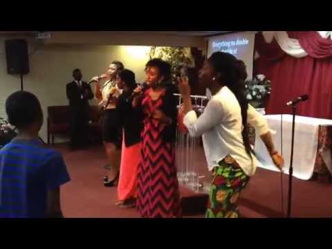 Abundant Grace Christian Center Sunday worship.