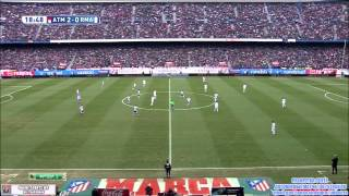 Atletico Madrid vs Real Madrid 4-0 Full Match First Half 07-02-2015 HD