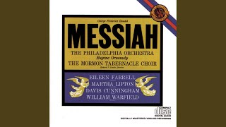 Messiah Hwv 56 I Know That My Redeemer Liveth Voice