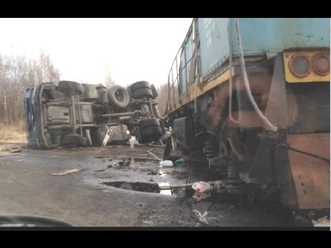 Train crash compilation  -  Cars vs trains compilation