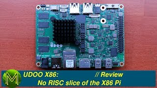 UDOO X86: No RISC slice of the X86 Pi // Review