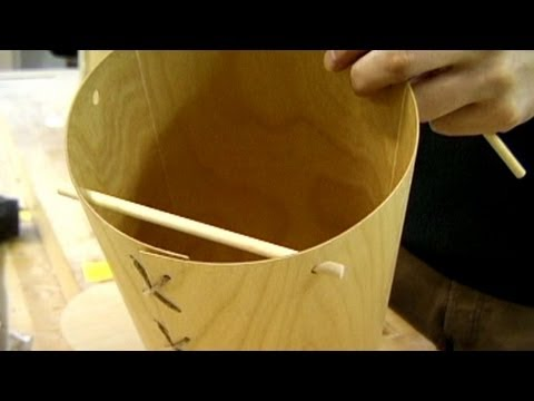 Finnish Wood 1 - Jeremy Broun teaches in Mynamaki, Finland