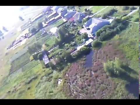 р.п Любинский с высоты птичего полета.