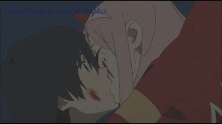 Darling in the FranXX - 02 Kisses Hiro (English Dub)