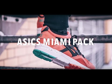 ASICS MIAMI PACK | SNEAKERS NEWS