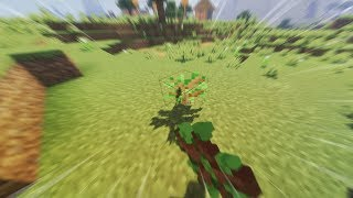 Planting trees for 10+ minutes in Minecraft