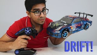 UNBOXING & LETS PLAY - 1/10 HSP 350Z DRIFT BRUSHLESS RC CAR - 94123 by RCmoment- FULL REVIEW!