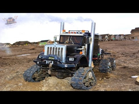 RC ADVENTURES - JUGGERNAUT DOES DONUTS & my First Stripped iDLER Gear! Electric RC Truck