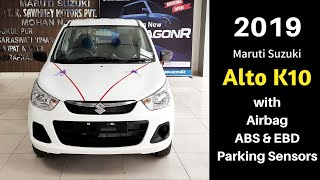 2019 Alto K10 with ABS | Airbags | Reverse Parking Sensors | Ujjwal Saxena