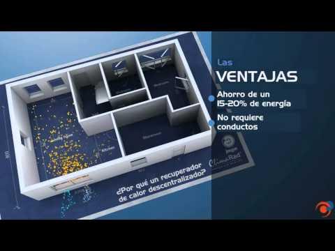 Jaga Fresh, fancoil y recuperador de calor descentralizado