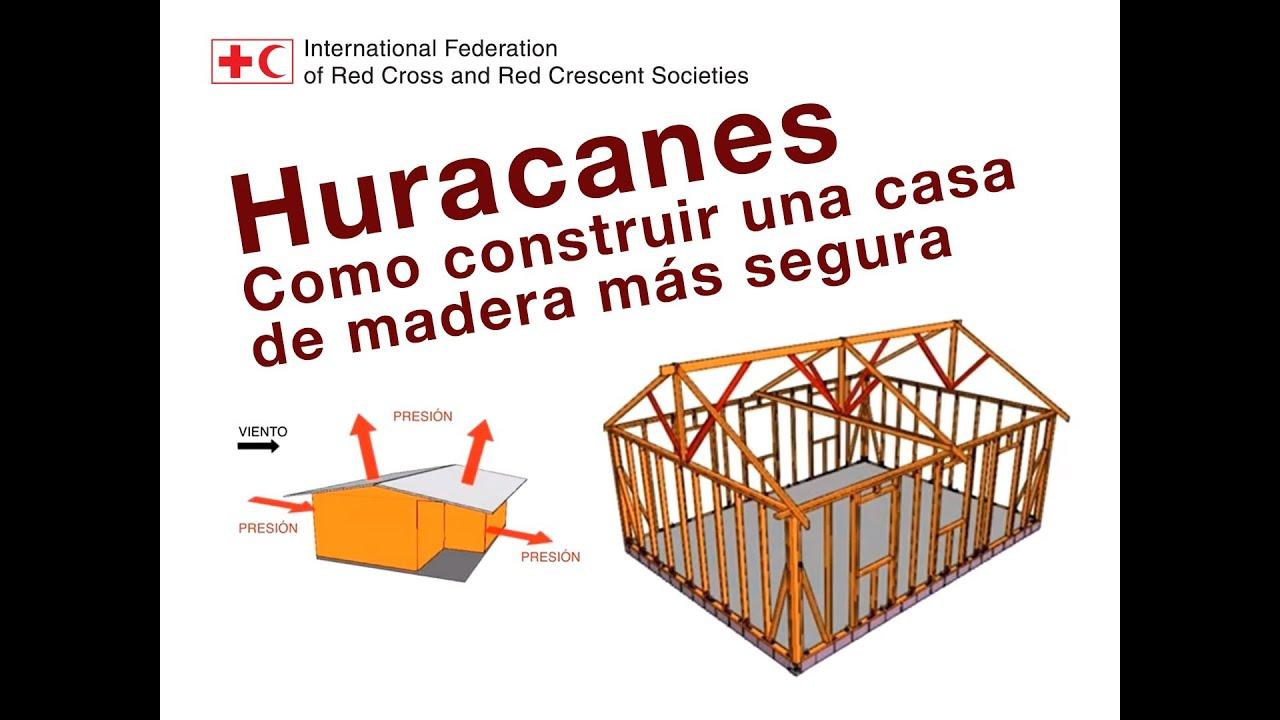 Huracanes como construir una casa de madera m s segura for Como construir piletas de material