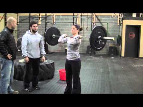 How to Perform a Shoulder Press, Workouts, Exercise & Training for 2012 Crossfit Games, LA Image 1