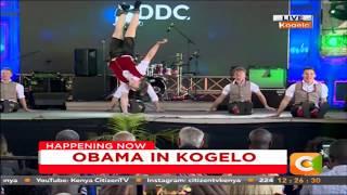 German Breakdance Champions DDC performing in Kogelo #ObamaInKenya