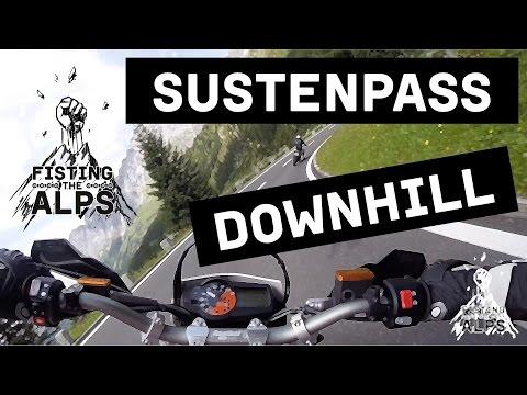 Fisting The Alps - Raw - Sustenpass Downhill (ktm 690 Smc R - Ktm 990 Smr) video
