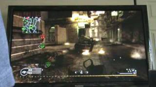 Panasonic TC-P54G10 54inch &XBOX 360 in COD4