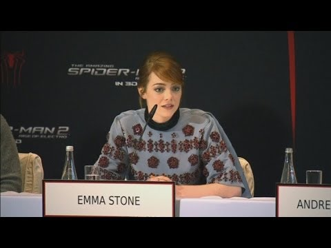 Spider-man 2: Emma Stone Refuses To Talk About Andrew Garfield video