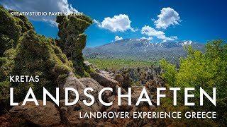 Kretas Landschaften - Land Rover Experience Greece