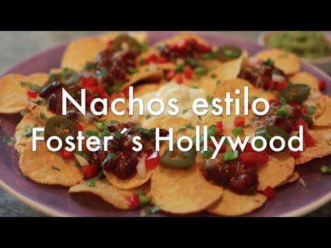 Cómo Hacer Nachos estilo Foster´s Hollywood - Receta Corta