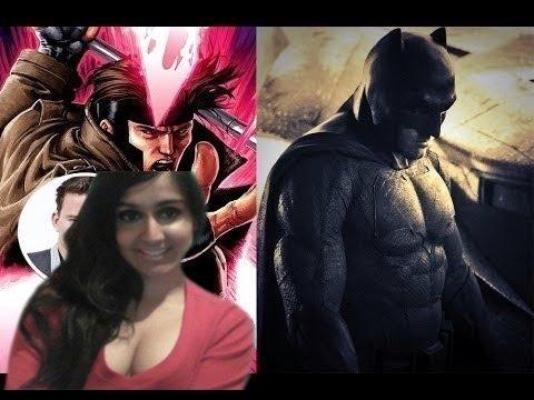 Ben Affleck Batman Suit & Channing Tatum Gambit in 2016 Xmen Film!(REVIEW) - WTF IS TRENDING?!
