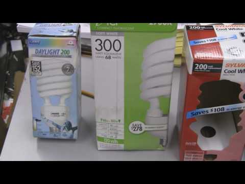 CFL Grow Light Reviews for Indoor Hydroponics and Indoor Gardening