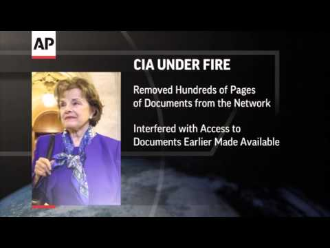 Dianne Feinstein accuses CIA of spying on computers