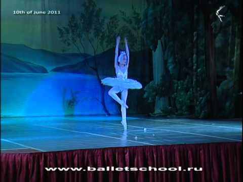White Swan-2. Swan Lake, 8 years old russian ballerina Music Videos