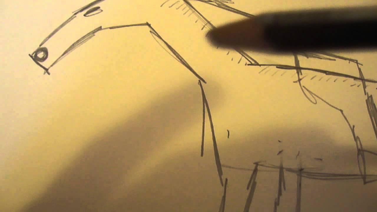 TUTORIAL DISEGNO: Come disegnare un cavallo! - YouTube