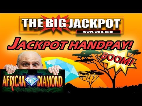 JACKPOT HANDPAY ✦ $50/ SPIN ✦ African Diamond PAYOUT! | The Big Jackpot