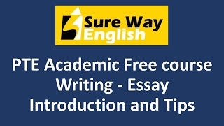 PTE Write Essay Tips - PTE Writing - High Score PTE Tips