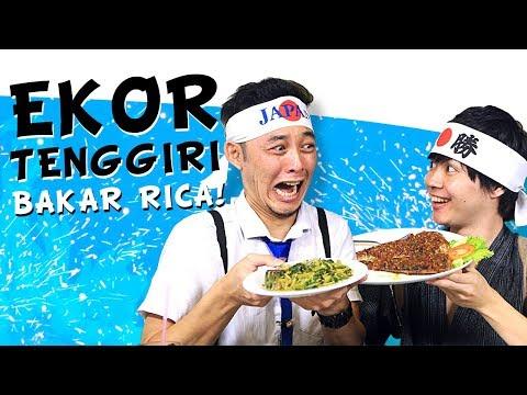 SUPER PEDAS! GENKI - DAISUKE MAKAN EKOR TENGGIRI SAMBAL RICA | SPICY JOURNEY #11