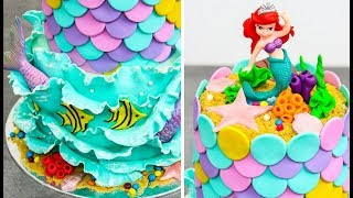 The LITTLE MERMAID Cake by Cakes StepbyStep