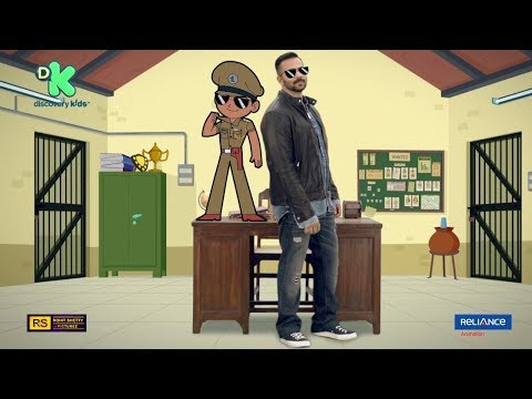 Little Singham | Official Promo featuring Rohit Shetty thumbnail