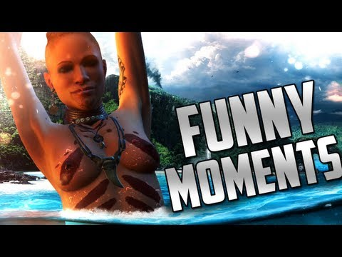 Far Cry 3 Funny Moments (Road Kill, Animal Attacks) ft. H2O Delirious Music Videos
