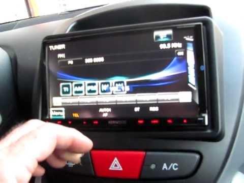 Toyota Aygo 2 Din Multimedia Kenwood Youtube