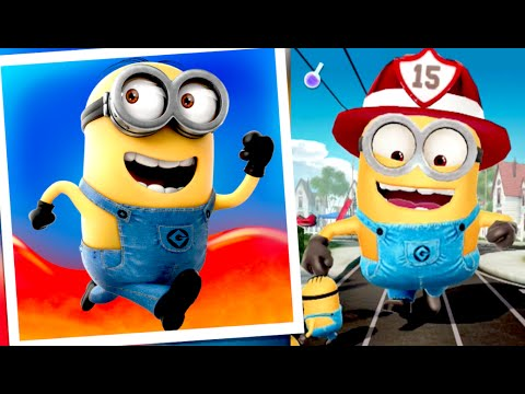 Firefighter Minion!!! Despicable Me: Minion Rush Jelly Lab Gameplay Walkthrough (iphone, Android) video