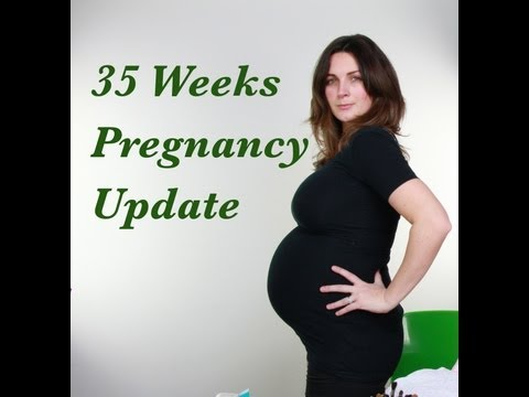 Pregnancy Update (35 Weeks Pregnant Whats In My Hospital Bag) video