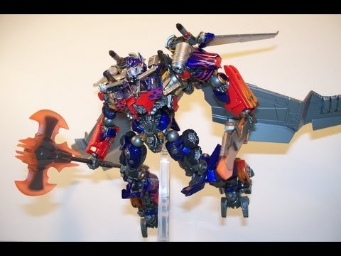 TRANSFORMERS DOTM SCI-FI REVOLTECH JETWING OPTIMUS PRIME #040 ACTION FIGURE TOY REVIEW