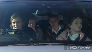 Emmerdale - Sarah, Noah, Jacob and Leanna Takes A Ride At Joe's Stolen Car (12th June 2018)