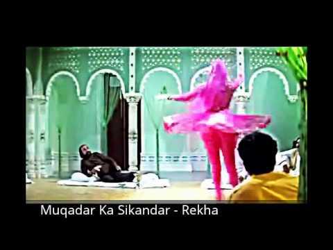 Muqadar Ka Sikandar Rekha Mujra video