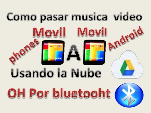 Moto G: Como pasar musica. videos Movil A Movil usando la Nube. Bluetooth + Reproductor player