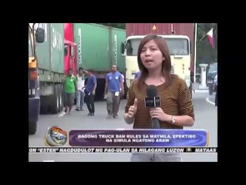 Truck ban rules in Manila, implemented