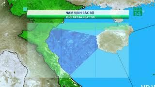 Thời tiết biển 27/04/2019: Thời tiết biển tương đối thuận lợi, trừ khu vực vịnh Bắc bộ   VTC14