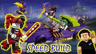 Lego Batman Movie COMO ARMAR The Joker Notorious Lowrider speed build