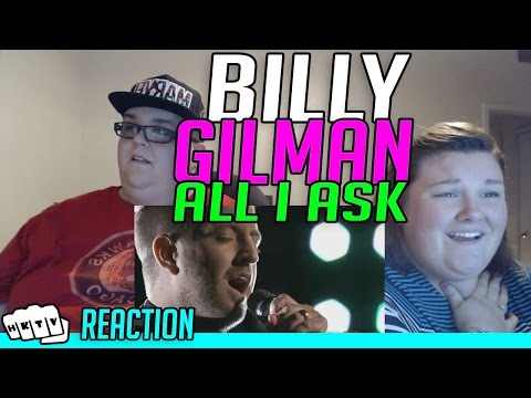 BILLY GILMAN ALL I ASK [THE VOICE 2016] REACTION!!🔥