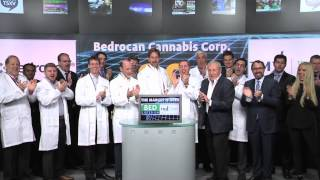 Bedrocan Cannabis Corp. (BED:TSX-V) opens Toronto Stock Exchange, September 17, 2014.